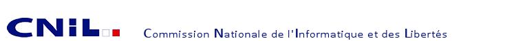 CNIL Commission Nationale de l'Informatique et des Libertés
