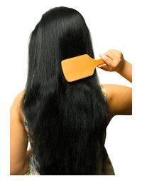 Brossage des cheveux