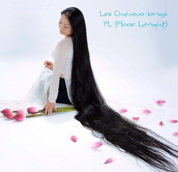 Cheveux très longs FL (Floor Lenght)