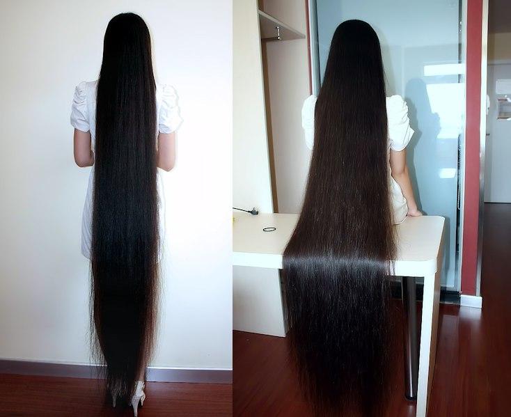 La longueur de cheveux FL (Floor Lenght)