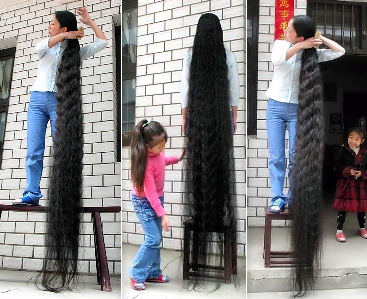 fl longueur de cheveux fl floor length adjocom. Black Bedroom Furniture Sets. Home Design Ideas