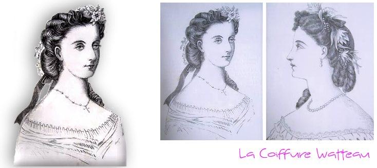 La coiffure Watteau