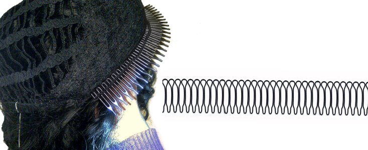 "Illustration article ""Wig Combs"""