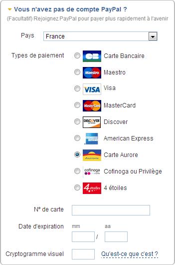 Comment payer par carte aurore sur adjocom adjocom - Carte aurore partenaire ...