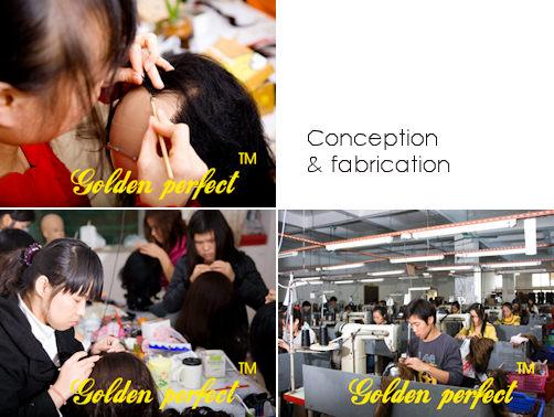 Conception et fabrication des produits golden perfect
