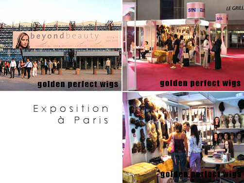Exposition Golden Perfect à Paris