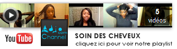 "Playlist YouTube ""Soin des cheveux"""