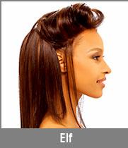 """Cliquez ici pour ouvrir notre fiche produit Whole Lace Wig """"Elf"""" de chez Janet Collection"""