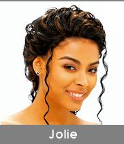 """Cliquez ici pour ouvrir notre fiche produit Whole Lace Wig """"Jolie"""" de chez Janet Collection"""