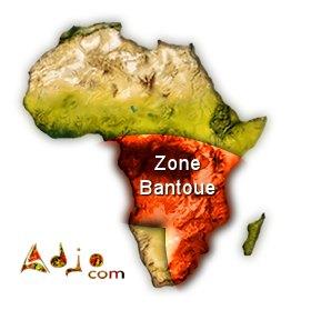 Toute la zone Bantoue de l'Afrique