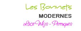 """Titre article """"Bonnets"""" modernes lace wigs perruques"""