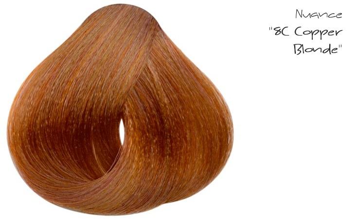 La nuance 8C Copper Blonde