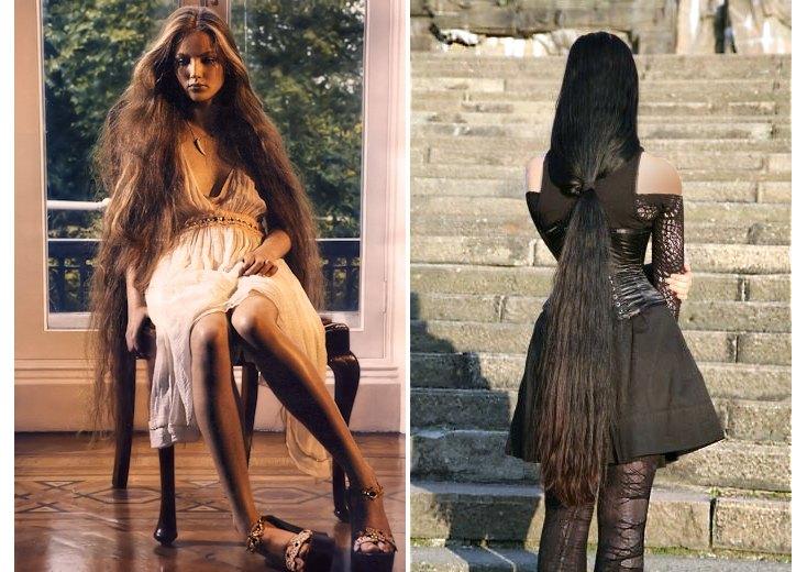 Illustration des longueurs de cheveux KL