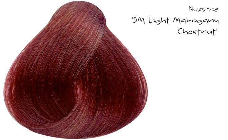 "La nuance ""5M Light Mahogany Chestnut"""