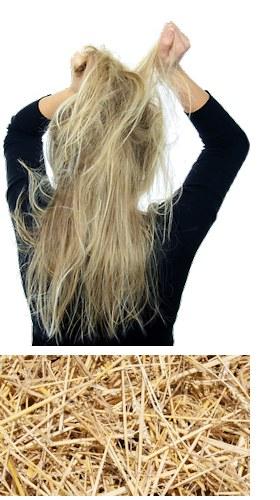 """L'effet """"Cheveux de paille"""""""