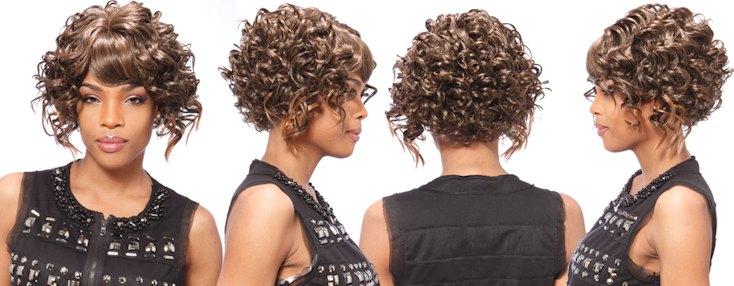 """La perruque """"Yaya Wig"""" de chez Janet Collection"""