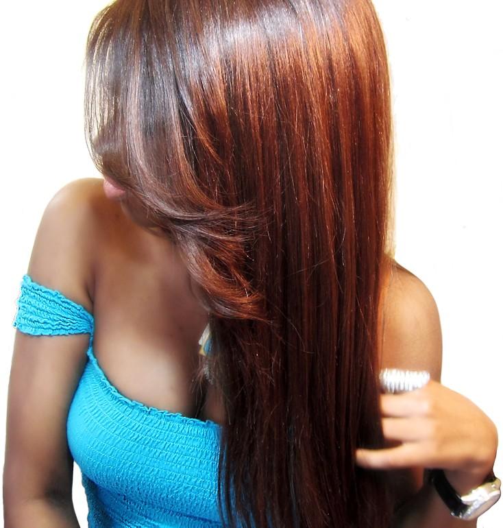 Une Lace Wig en texture YAKI DOUX