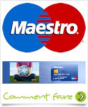 Logo carte Maestro PayPal