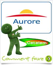 Logo Carte Aurore de CETELEM