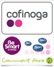 Logo Carte Cofinoga Be Smart avec Smiles