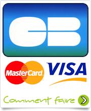 Carte bleue, VISA, Mastercard