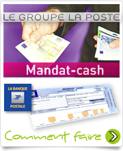Mandat Cash du groupe La Poste
