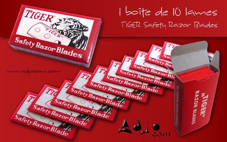 LAME DE RASOIR STANDARD TIGER