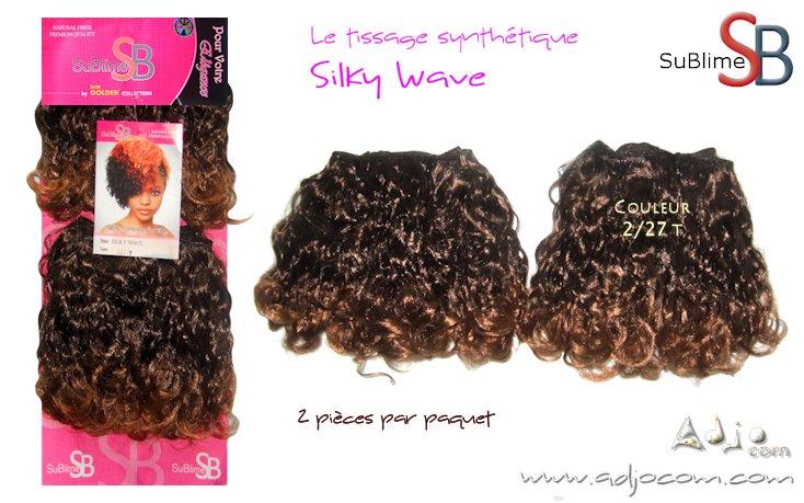 """Tissage synthétique KANEKALON """"Silky Wave"""" de la marque SuBlime"""